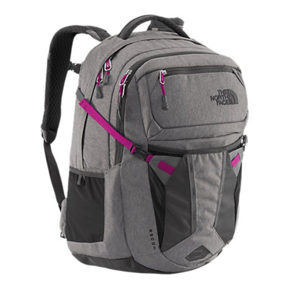 5331fcf12 North Face Women's Recon Backpack Purple Gray